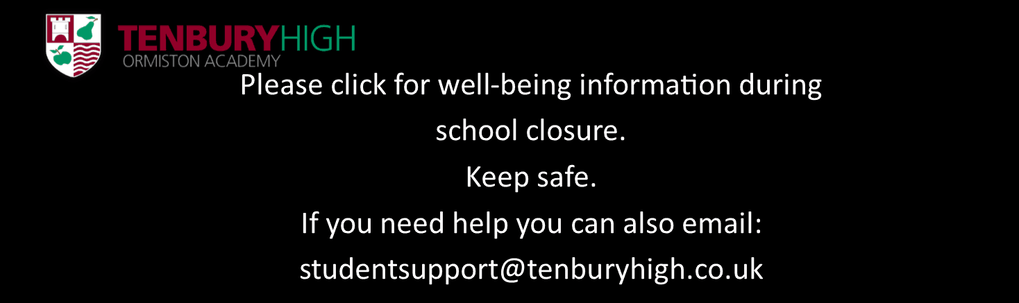 Wellbeing during school closure